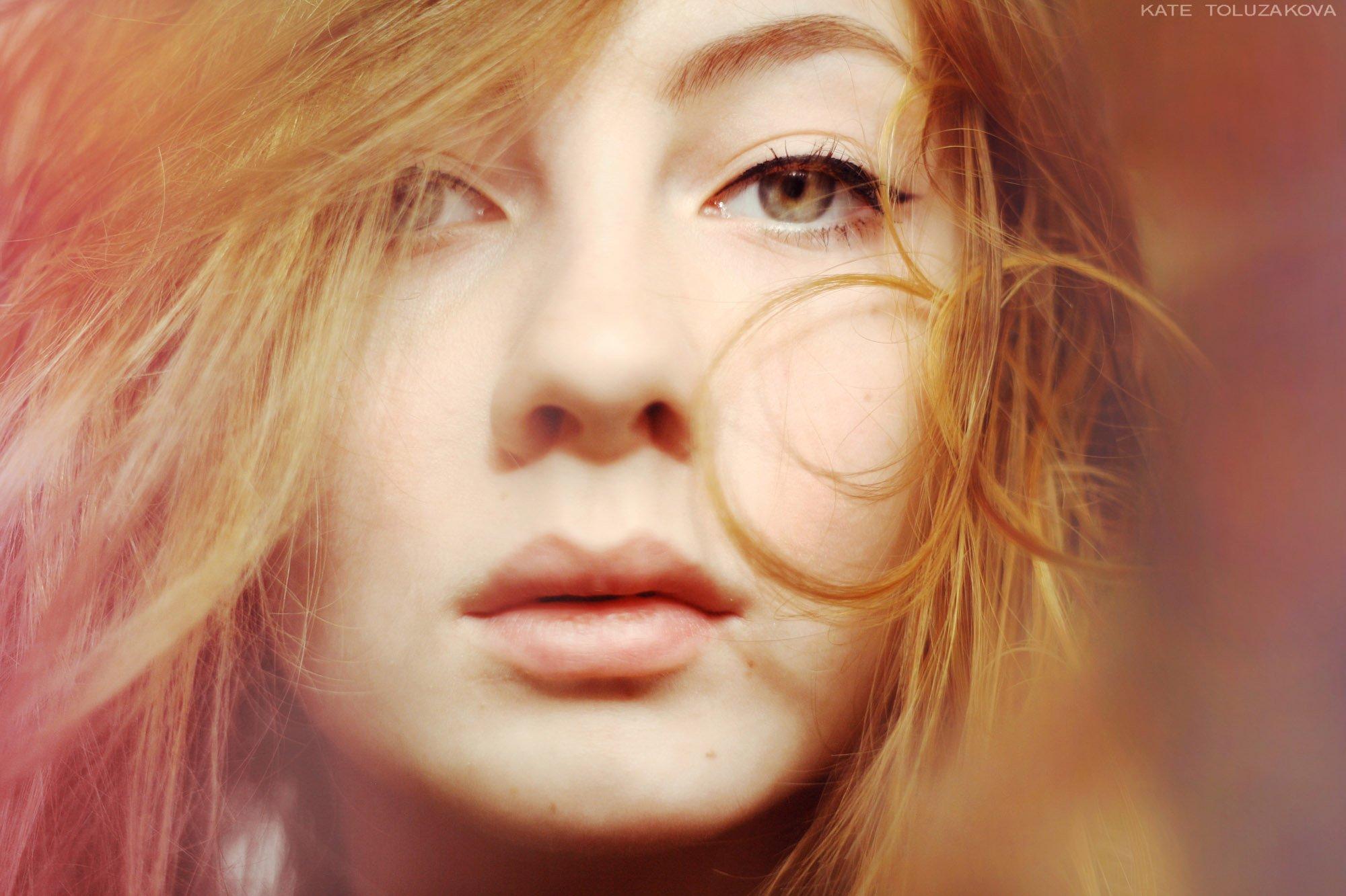 девушка,весна,автопортрет,нежность,губы,кудри,girl, spring, self-portrait, tenderness, lips, curls., Екатерина