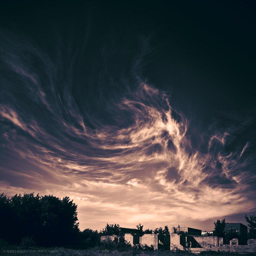 природа, пейзаж, небо, Alexey Kolodyazhni