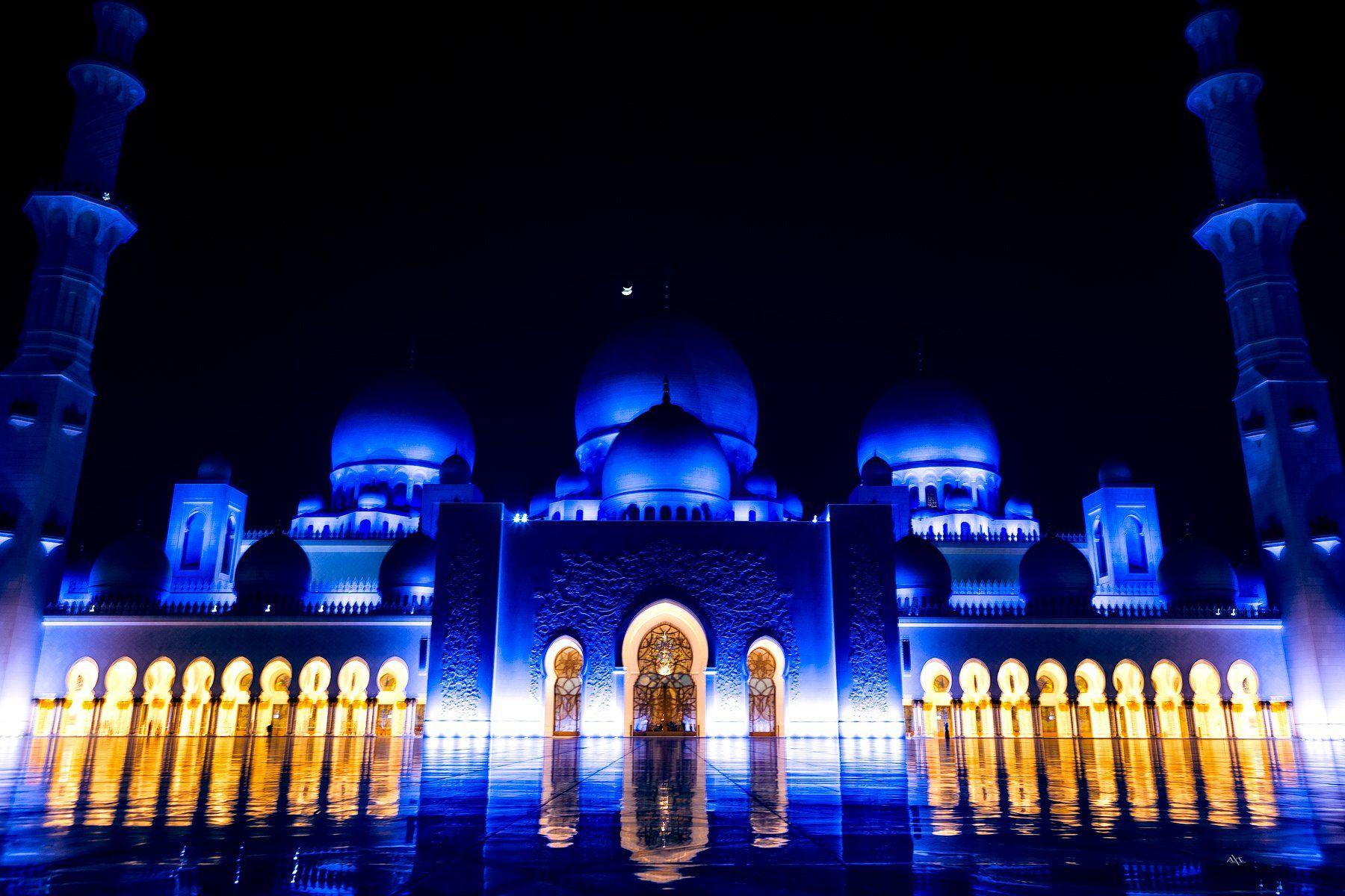 mosque, uae, abu dabi, travel, cityscape, Руслан Болгов (Axe)
