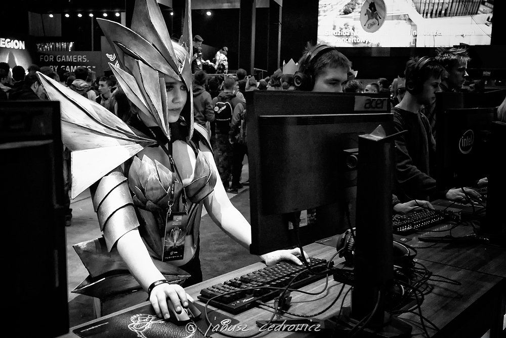 iem,intel, extreme, masters, katowice, silesia, computer, games, gaming, esport, esl, cosplay, cosplayer, janoo