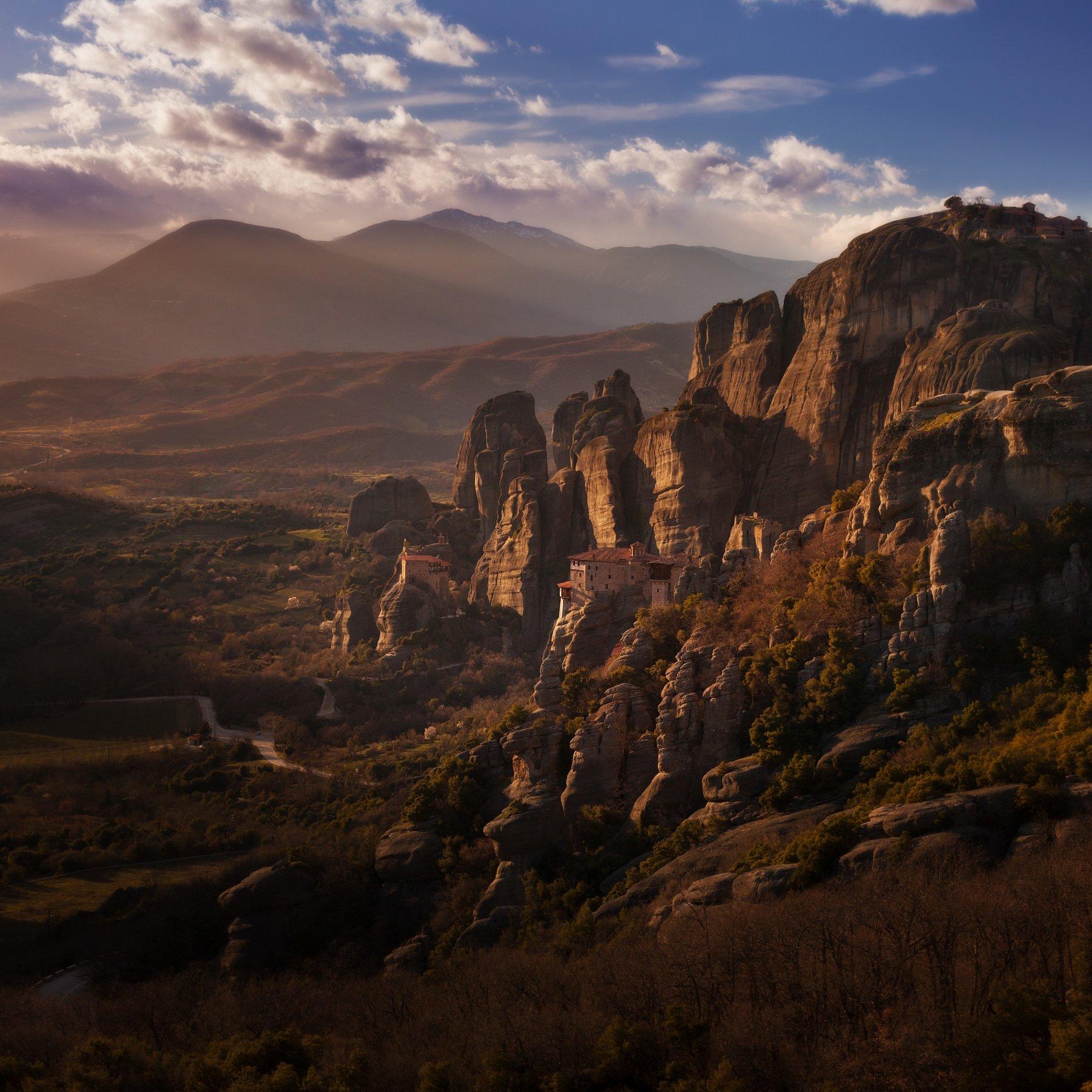 метеоры, греция, Андрей Родионов
