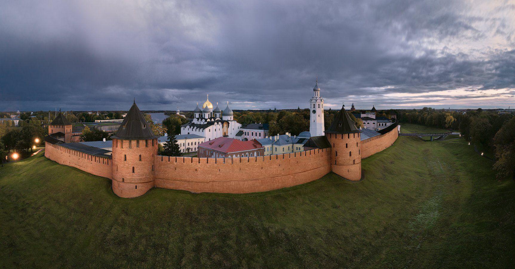 новгород, кремль, сумерки, Sergey Louks