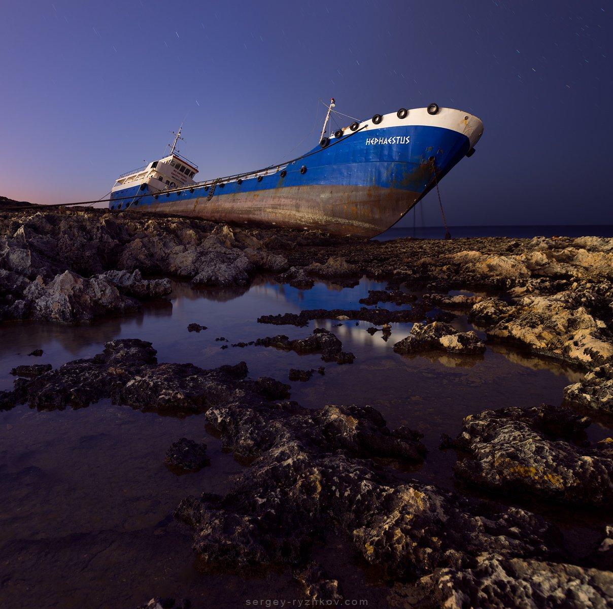 мальта, корабль, пейхаж, путешествие, ночь, море, средиземное море, malta, landscape, travel, nature, Сергей Рыжков