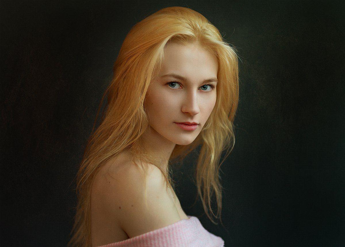 девушка, молодая, красивая, лицо, портрет, взгляд, красота, естественный свет, sigma, блондинка, girl, adult, model, beatiful, face, portrait, natural ligt, blonde, Евгений Сибиряев