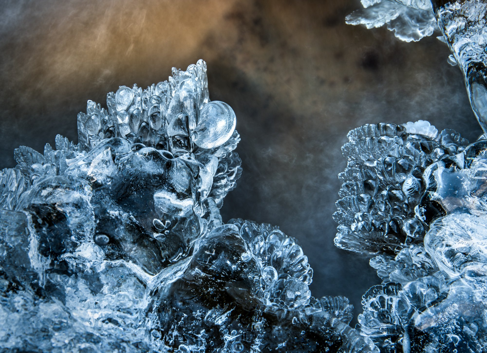 ice, forms, sculpture, shapes, nature, frozen, Sylwia Grabinska