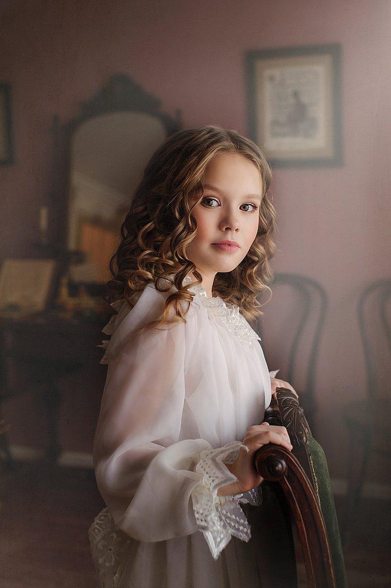 девочка, детский портрет, Ольга Артамонова