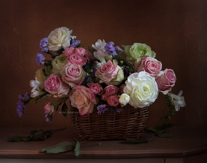 Букет роз. Алина Ланкина