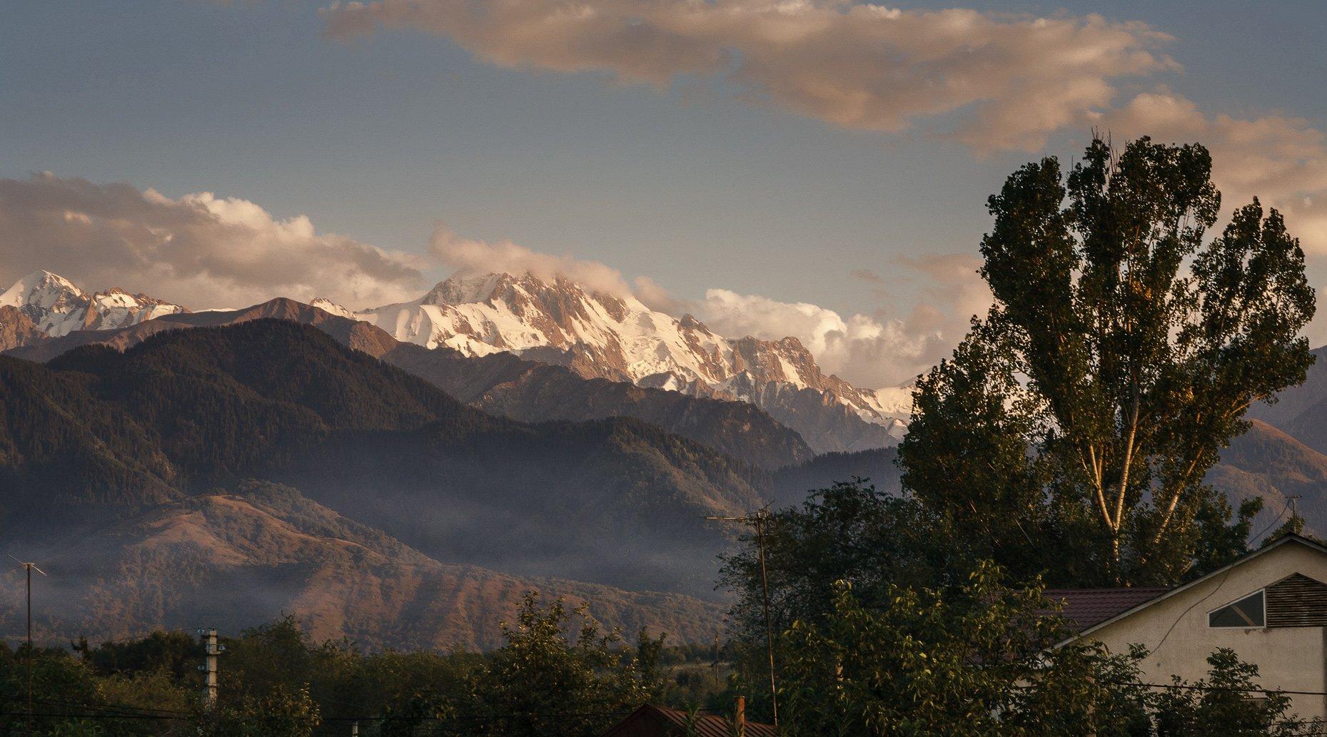 kazakhstan nature mountains талгар горы казахстан алма-ата, Vasca
