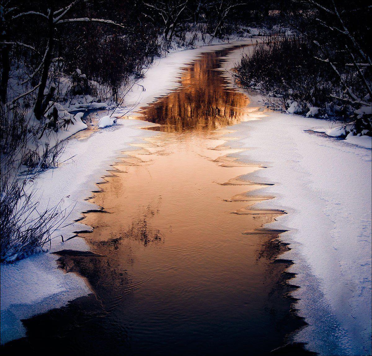 вода,лед,зубы,река,квадрат, denis