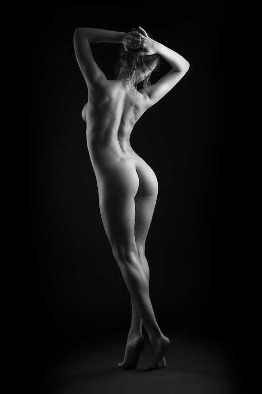 girl, nu, light, figure, studio, gotovo, Владимир Зотов