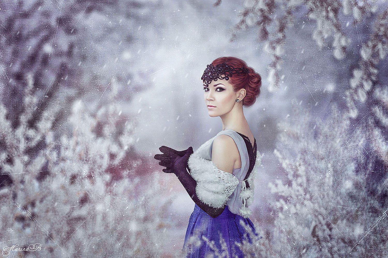 зима, зимняя сказка, снег, winter, fairy tale, Marina Baccardi