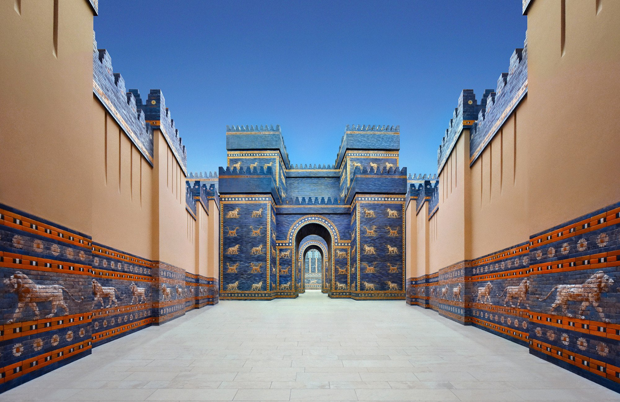 babylon, collage, museum, city, architecture, ancient, ishtar, marduk, nabuchodonosor, reconstruction, gate, pergamon, Endegor
