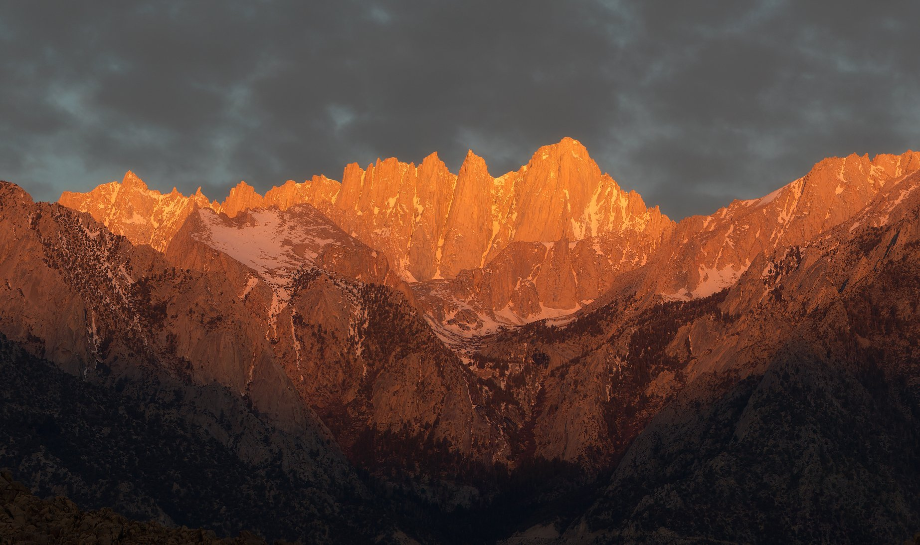 mount whitney, usa, sunrise, Сергей Луканкин
