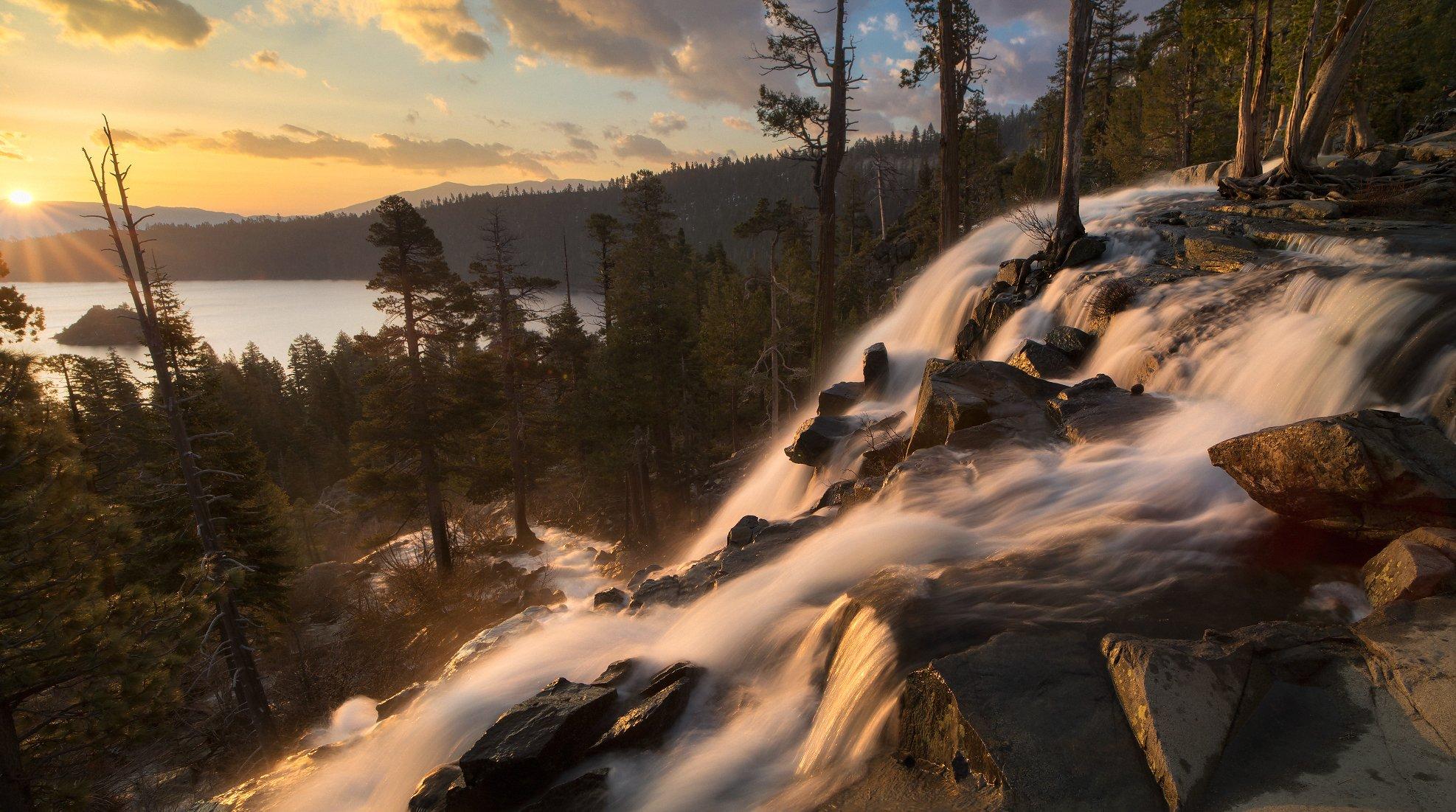 usa, california, eagle falls, Сергей Луканкин