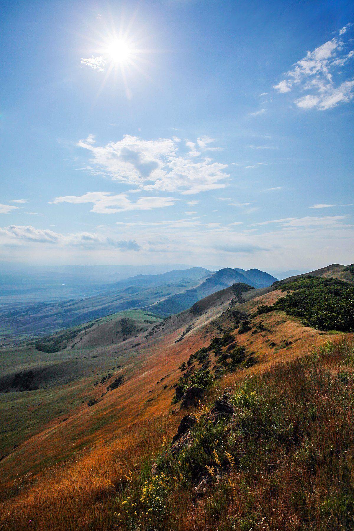 пейзаж, горы,лето,солнце, Марат Магов