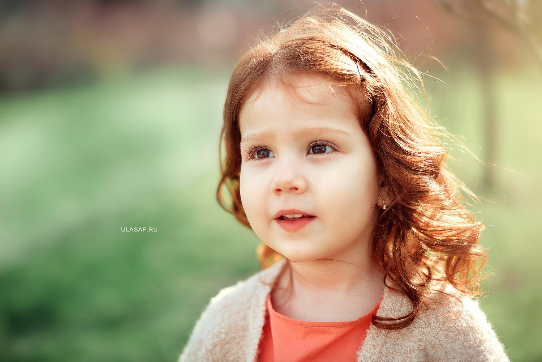 girl, portrait, девочка, портрет, весна, spring, red, рыжая, рыжик, Юлия Сафонова