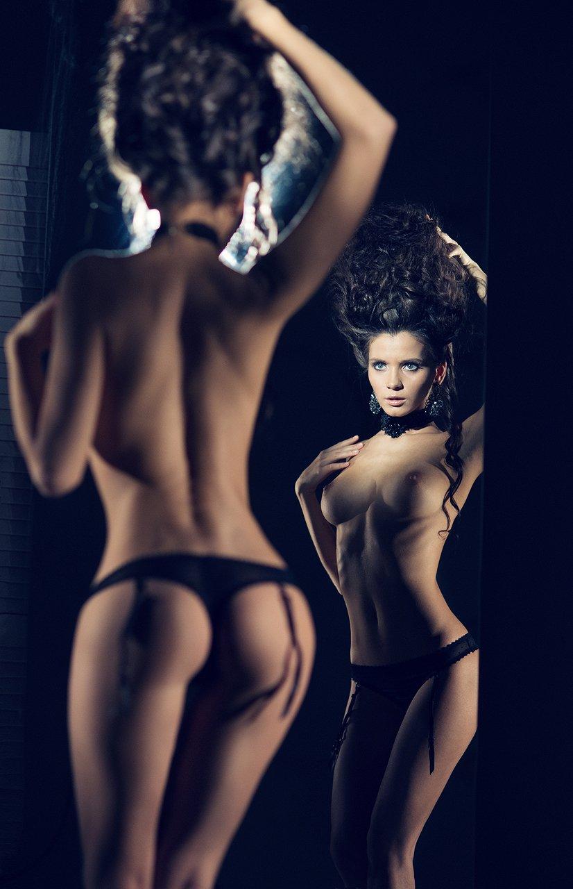 girl, model, sexy, nude, color, studio, light, Михаил Васин