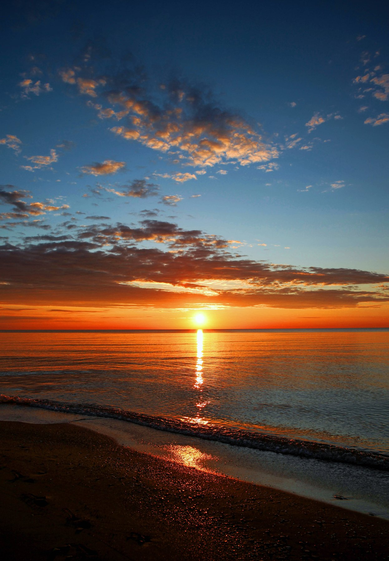 рассвет,море,каспийское море,, Марат Магов