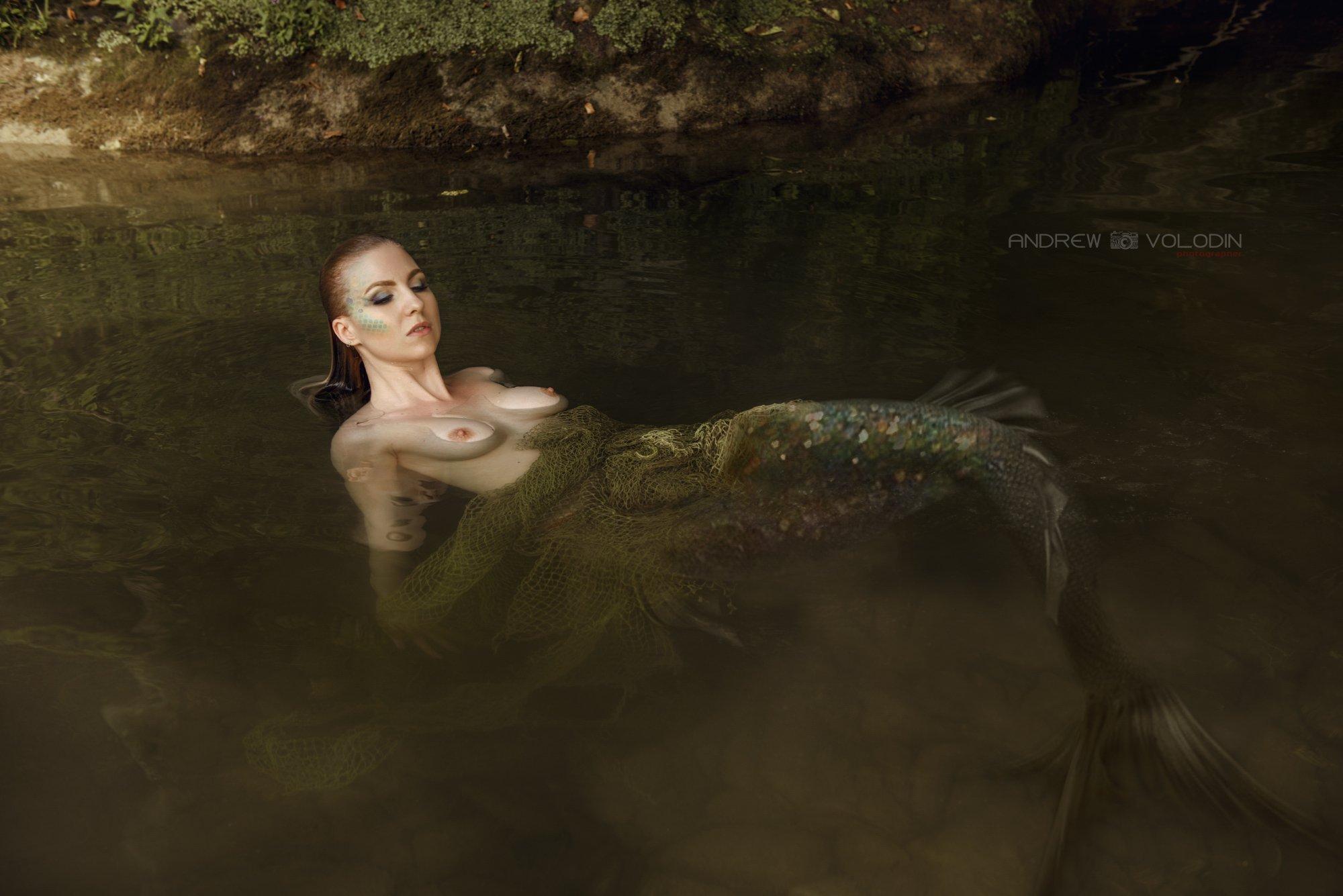 русалка хвост омут заводь вода красиво сказка, Андрей Володин