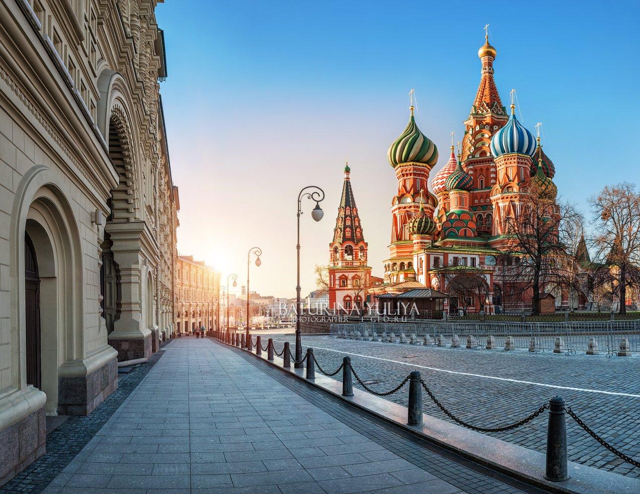 москва, собор василия блаженного, красная площадь, Юлия Батурина