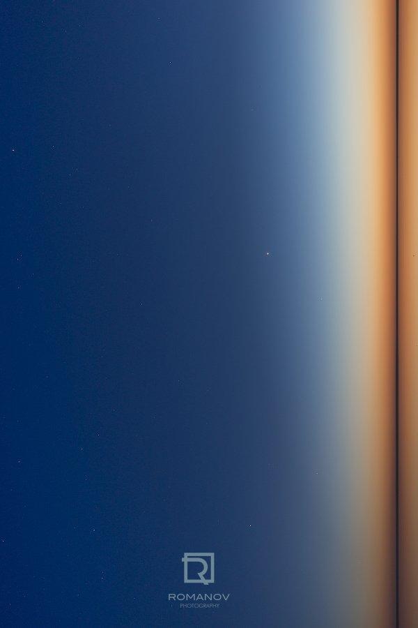 абстракт, свет, проекция, луч, силуэт, пространство, волна, узор, бесконечность, плазма, галактика, прожектор, свечение, озеро, отражение, звезда, закат, горизонт, линия, небо, Россия, Валерий Романов