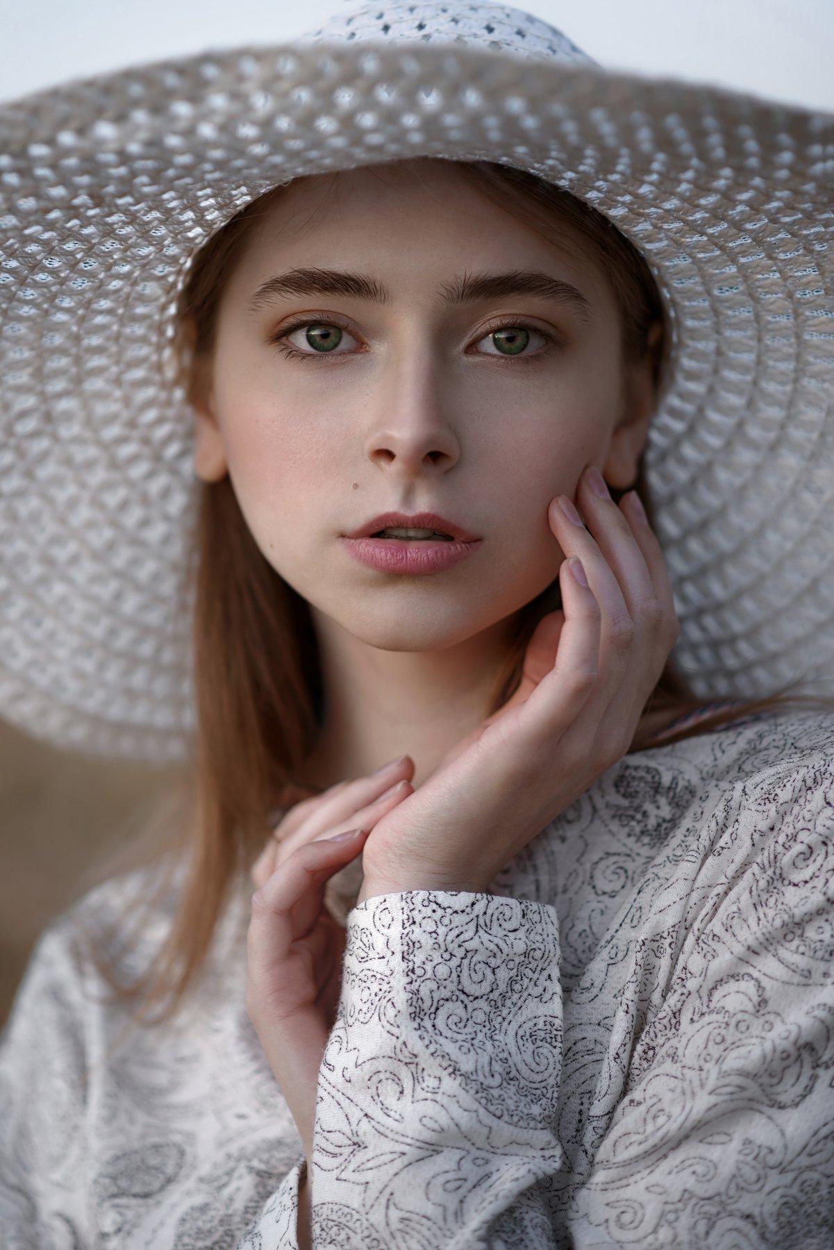 portrait, girl, model, eyes, hair, lips, face, beauty, facial, make-up, photographer, russia, nikon, Анна Дегтярёва