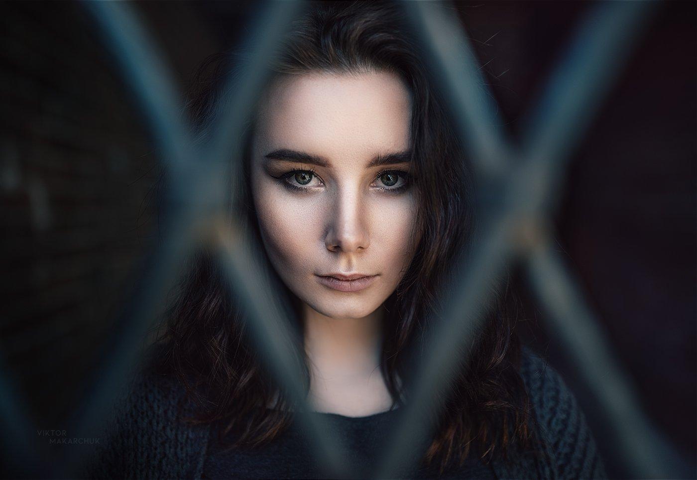 portrait, model, eyes, look, light, portraiture, pretty, fashion, elegant, colorful, beauty, face, model, Виктор Макарчук