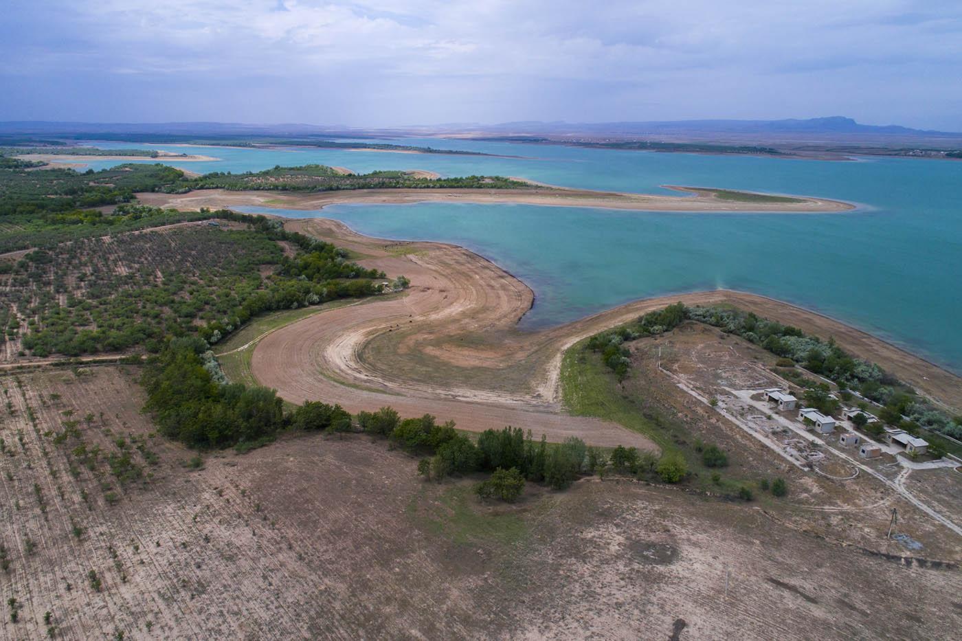 Узбекистан, сад, водохранилище, аэро, дрон, aerial, Борис Резванцев