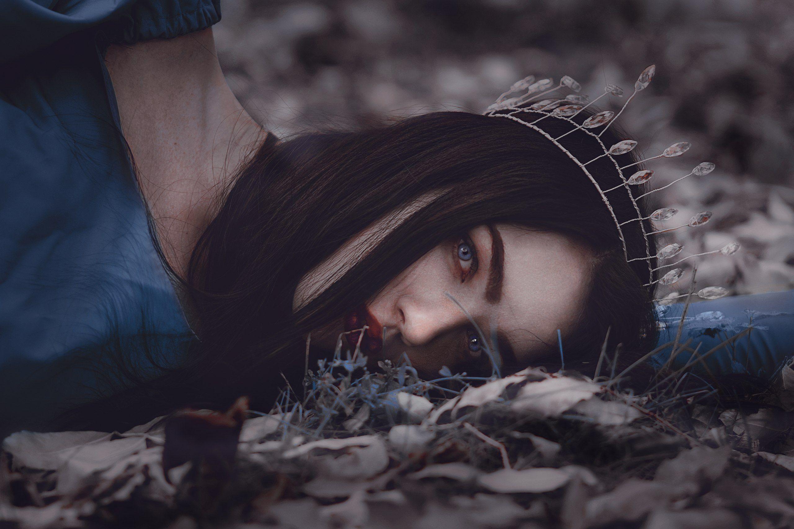 портрет, сказка, принцесса, красивая девушка, Полянская Елена