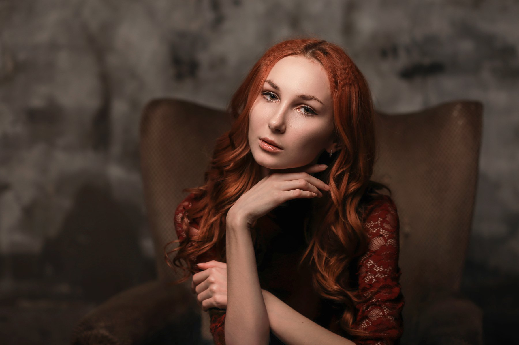девушка модель арт art портрет бьюти красота, Баринова Аполлинария