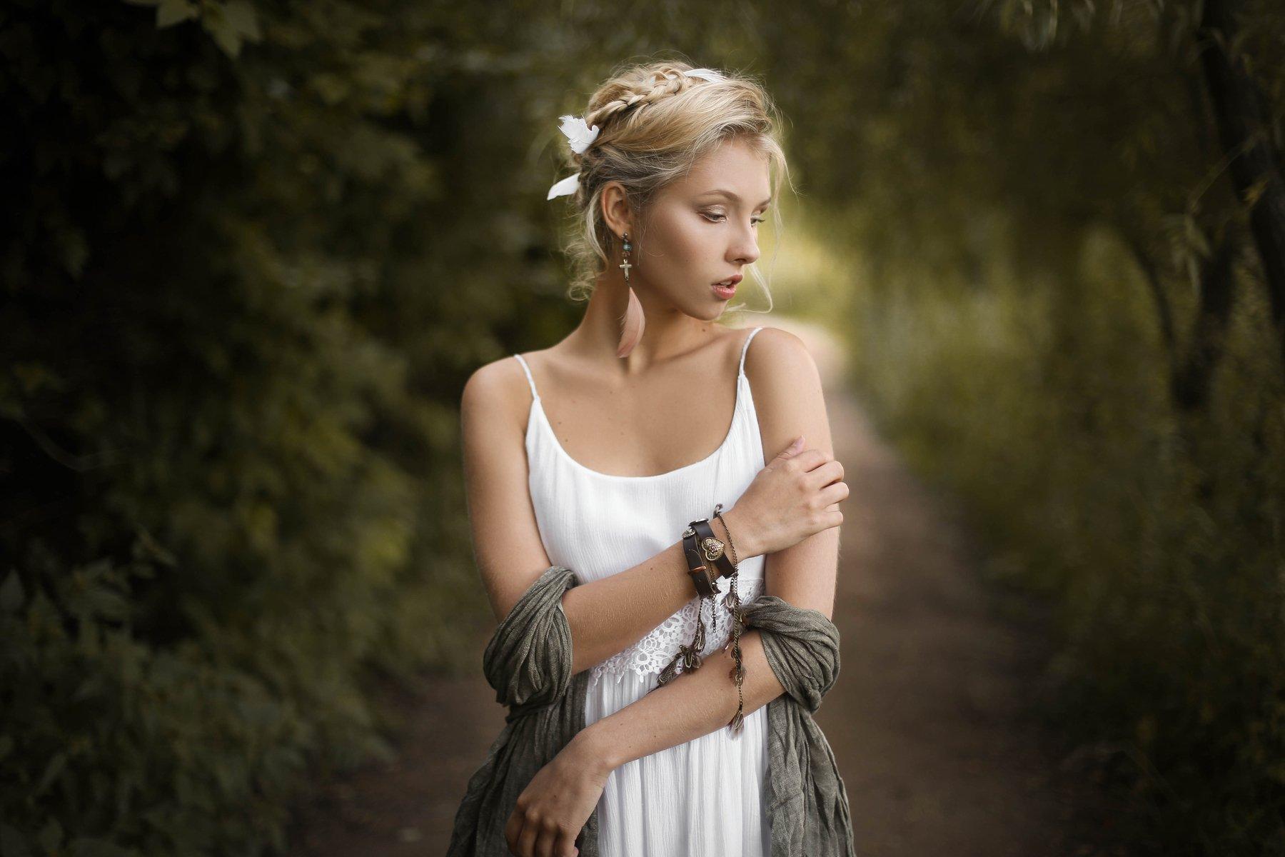 портрет арт art девушка красота модель, Баринова Аполлинария