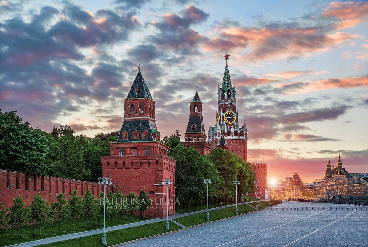 москва, кремль, спасская башня, Юлия Батурина