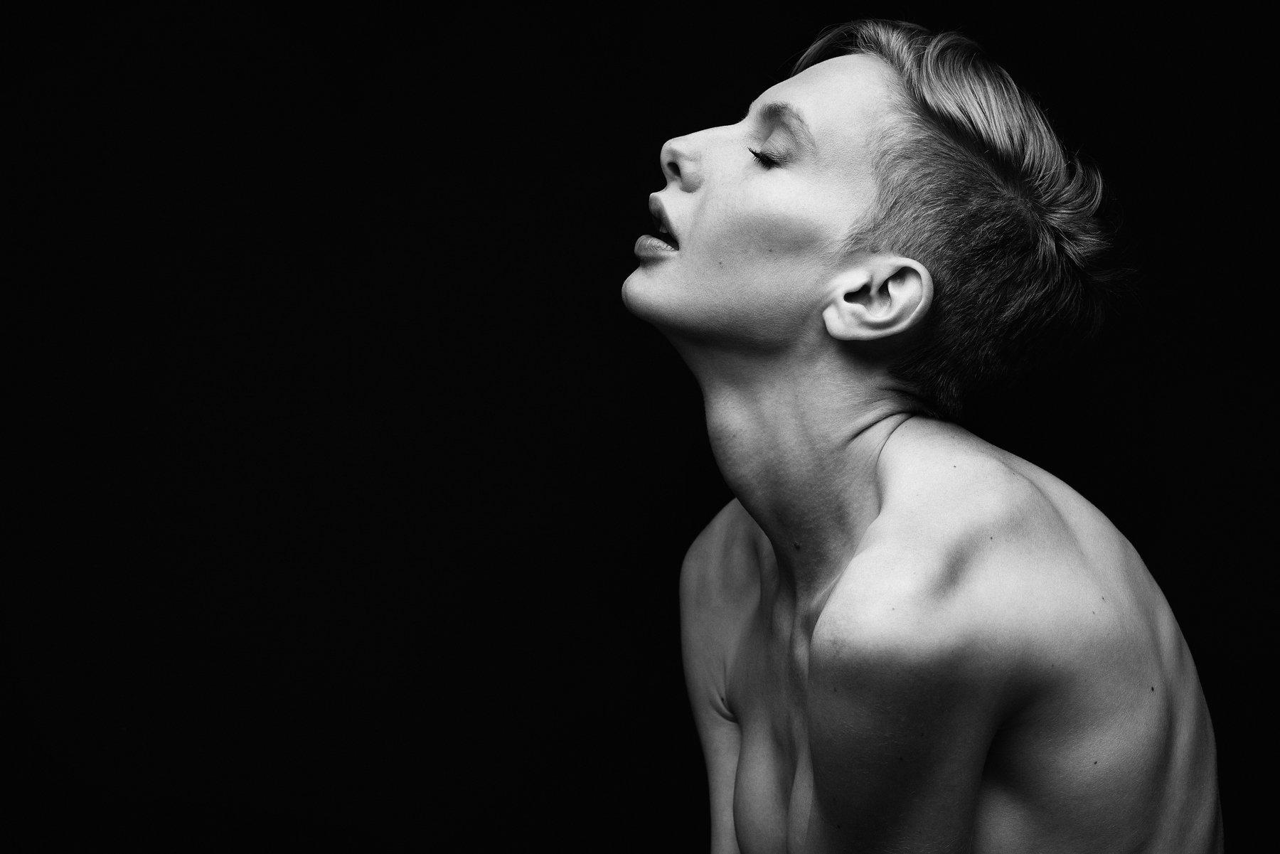 #blackandwhite, #sensual, #portrait, Georgi Todorov