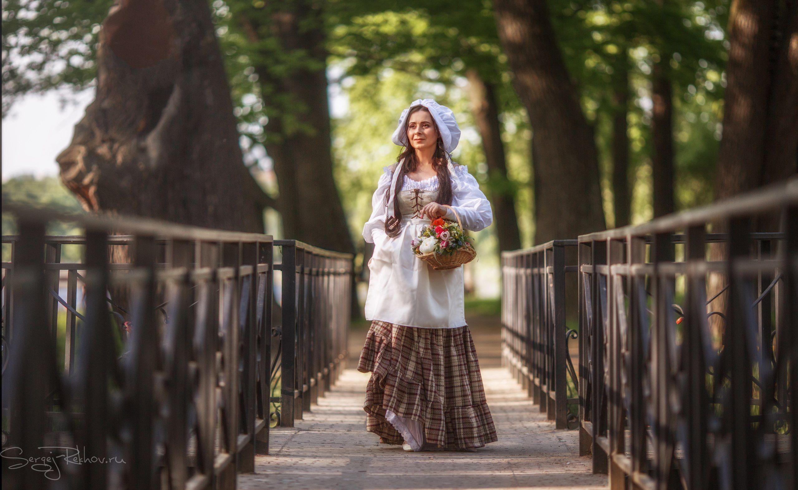 девушка, model, парк, цветы, рехов, сергейрехов, rekhov, sergejrekhov, Сергей Рехов