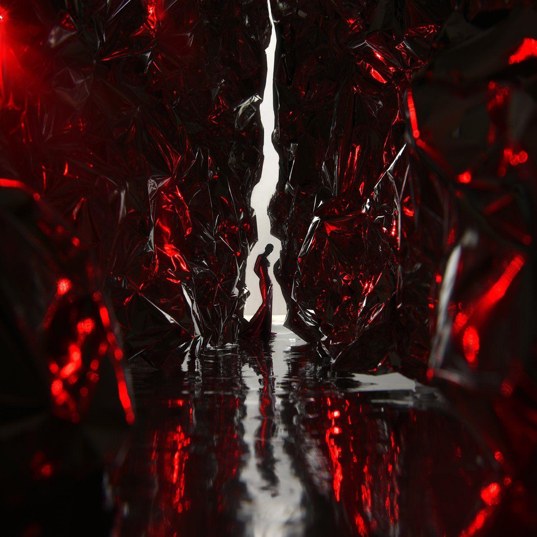 red,light,girl,metal,laser,queen,art,parishkov, Парышков Сергей