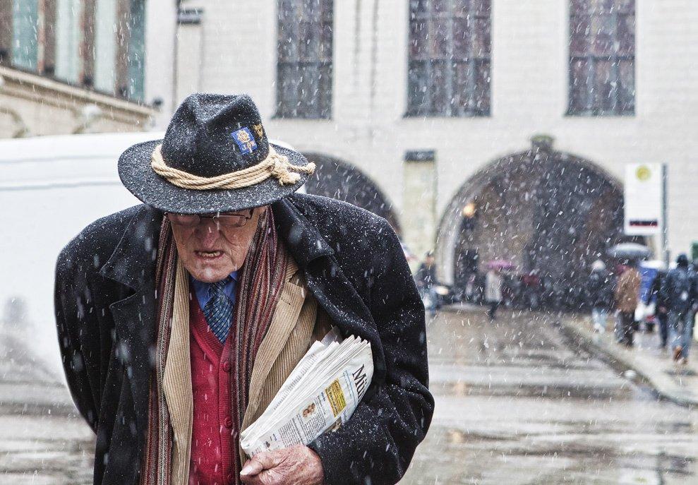 мюнхен, снег, пауль, диттель, Olga Shiropaeva