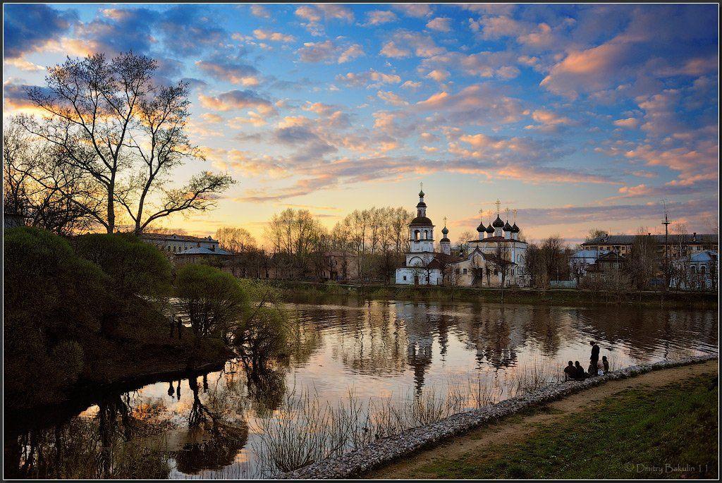 вологда, пейзаж, Дмитрий Бакулин