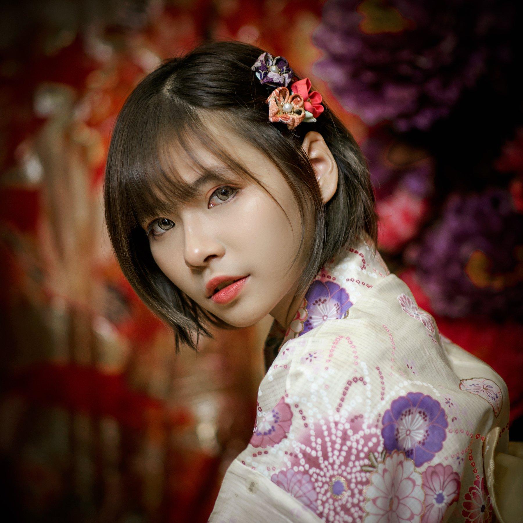people, portrait, girl, asian, vietnam, vietnamese, face, young, beauty, glamour, eyes, Hoang Viet Nguyen