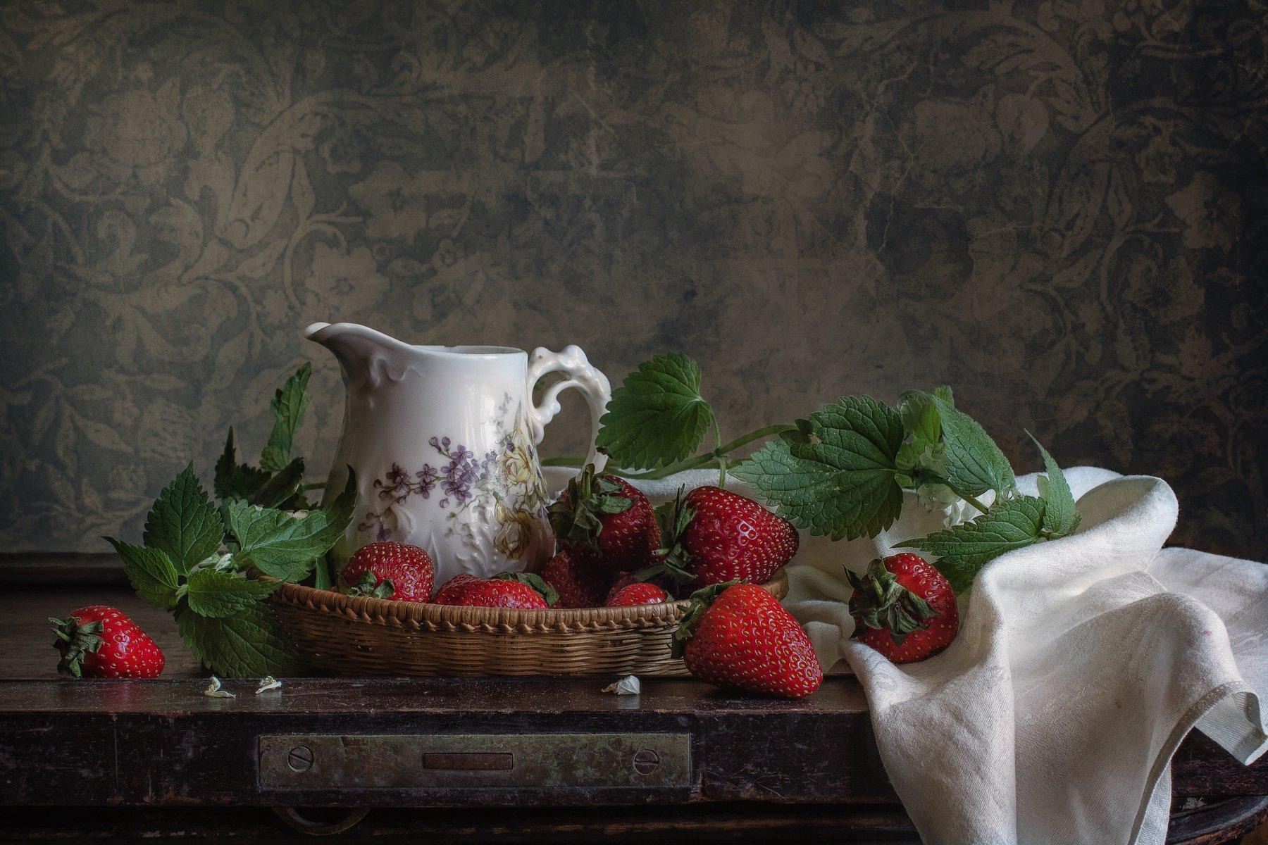Клубника со сливками Анна Петина