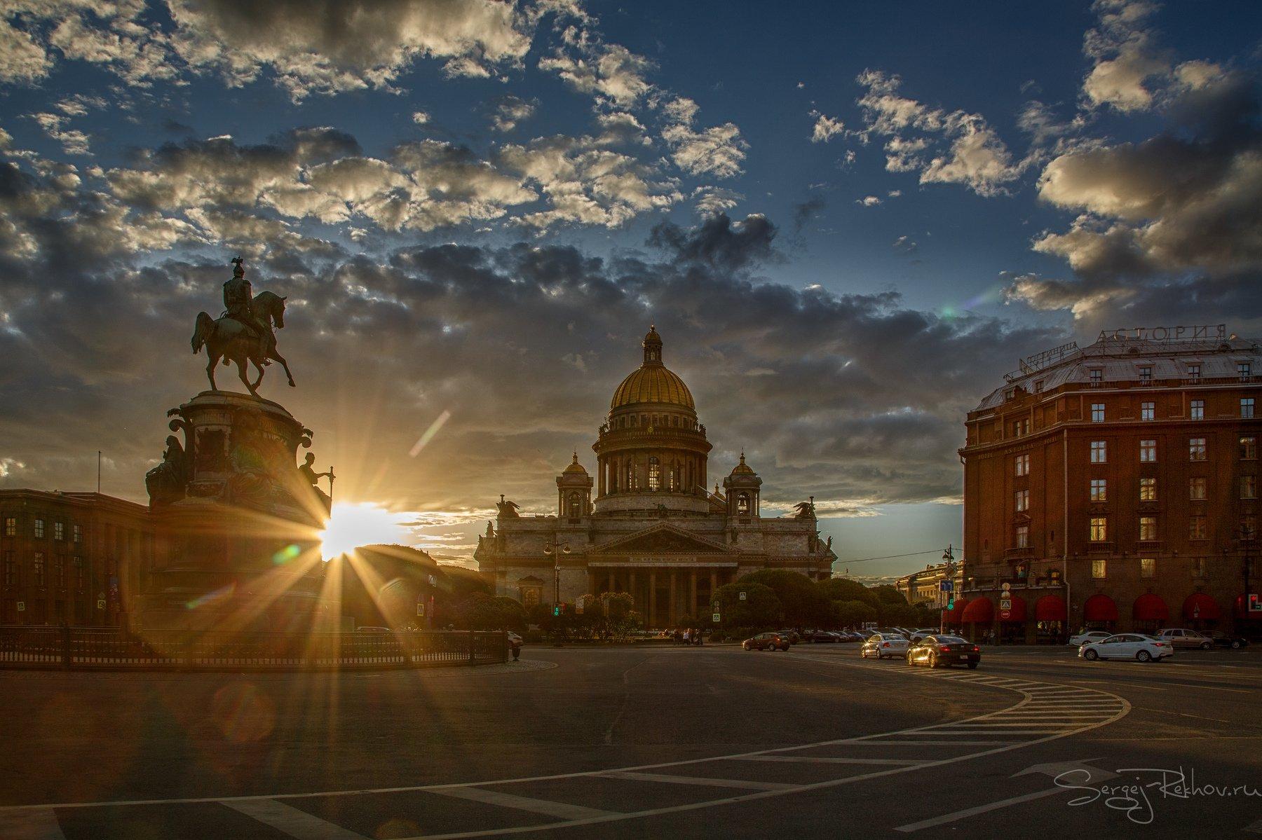 питер, санкт-петербург, спб, севернаяпальмира, закат, rekhov, Сергей Рехов