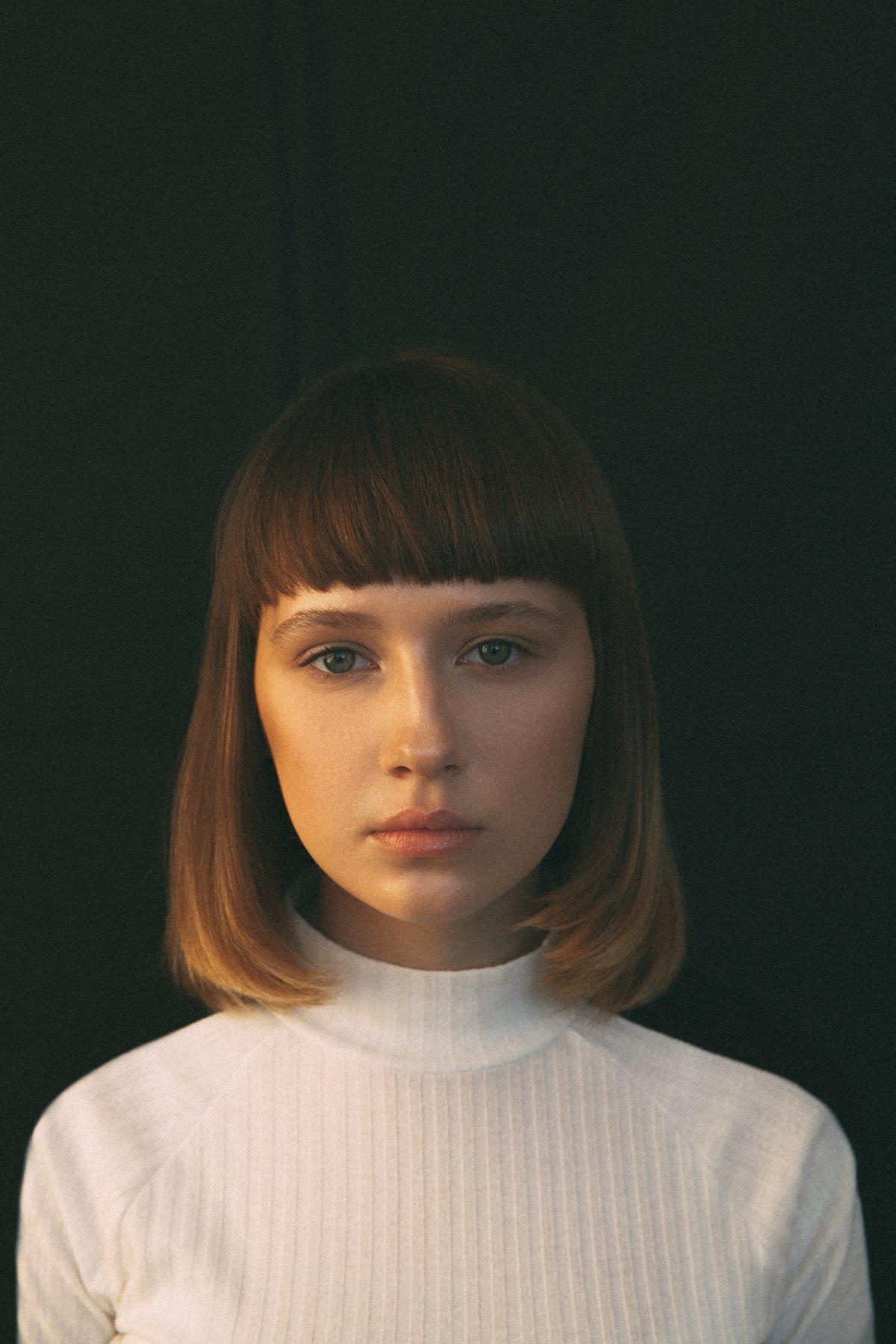 портрет девушка модель portrait girl mdoel, Dancho