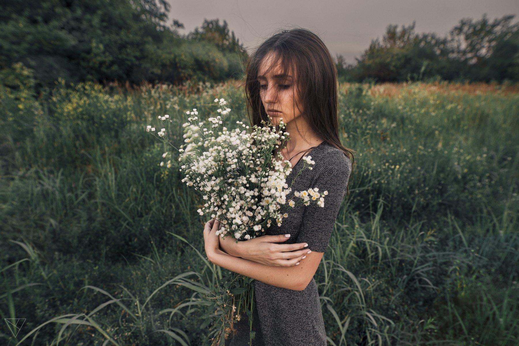 Портрет, женский портрет, девушка, взгляд, Россия , Дмитрий Александров
