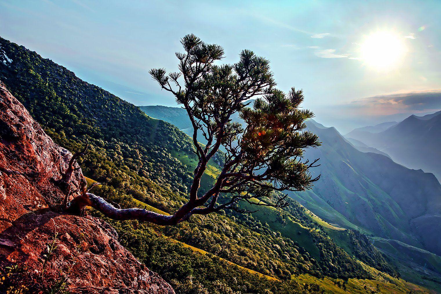 пейзаж, горы, осень,закат, Марат Магов
