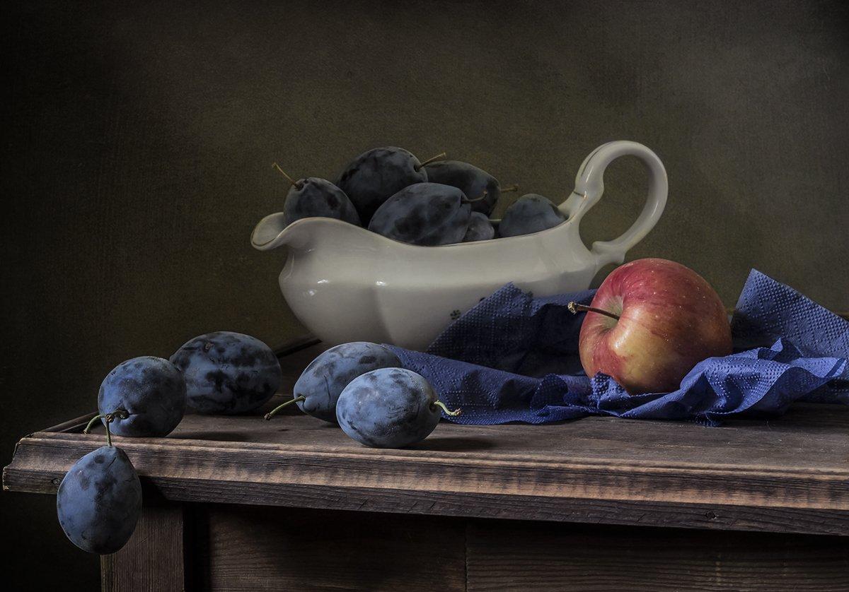 натюрморт, сливы, фрукты, still life, Оля