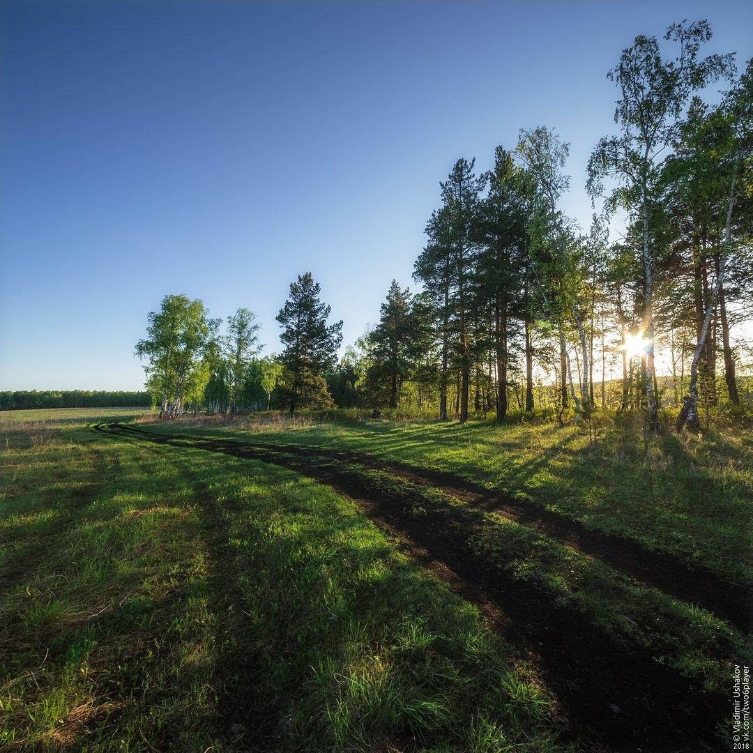 утро, рассвет, скалы, река, ай ,большой айский притес, лес, поле, дорога, челябинская область, Владимир Ушаков