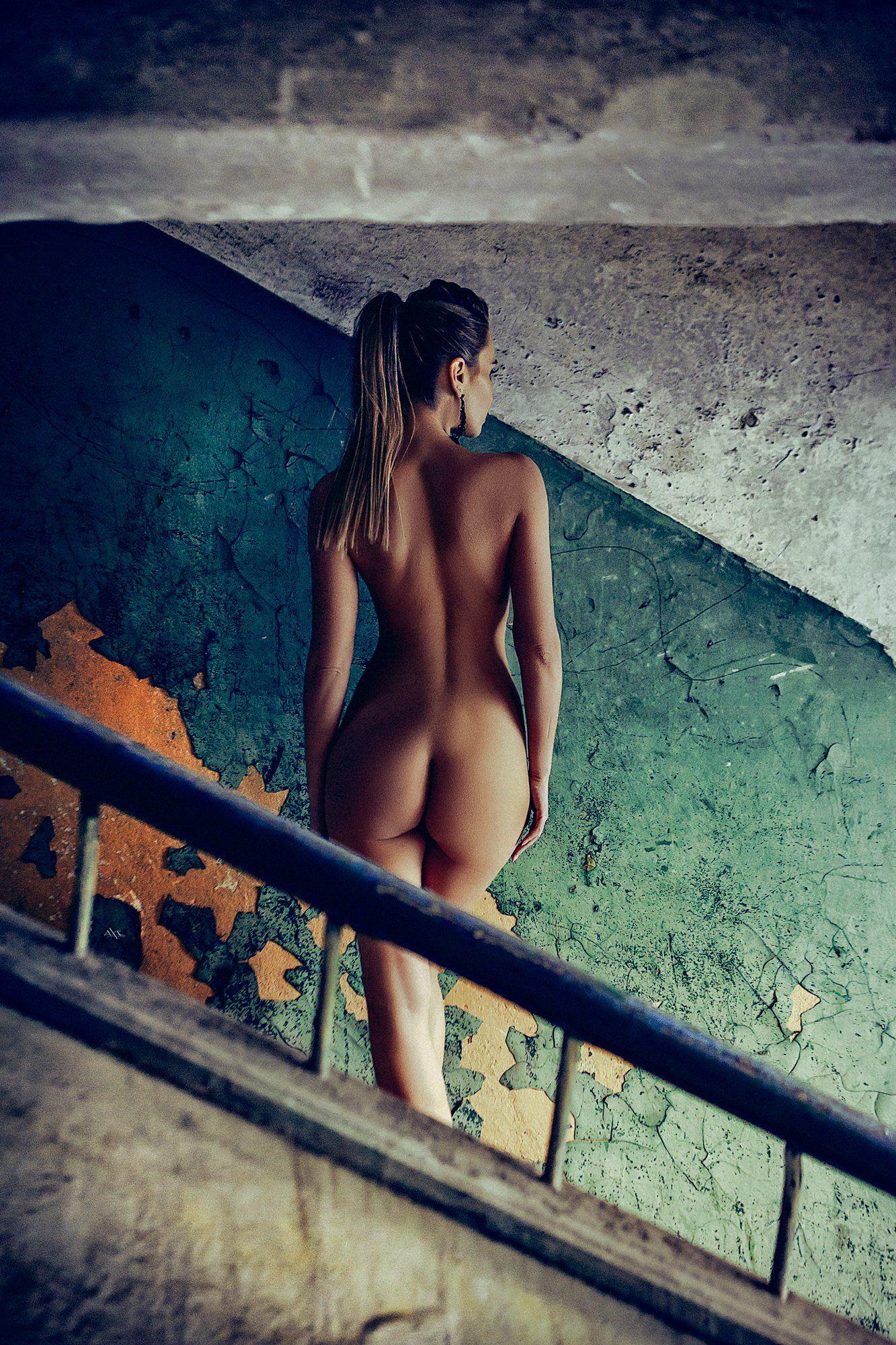 nude, woman, art, beauty, concept, natural light, abandoned, Руслан Болгов (Axe)