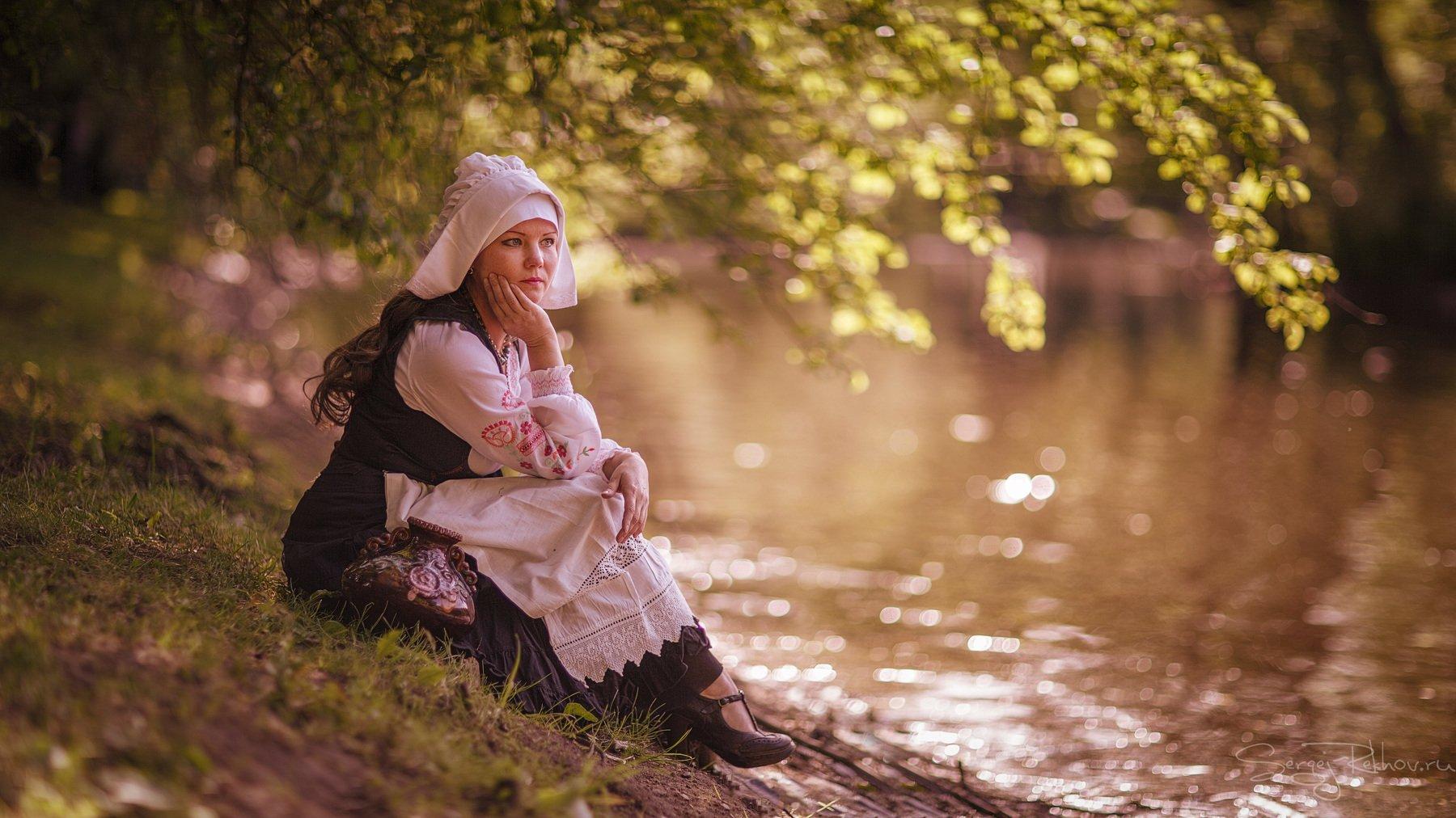 девушка, модель, портрет, парк, rekhov, Сергей Рехов