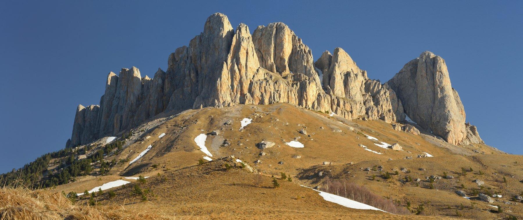 горы весна скалы утро, Александр Жарников