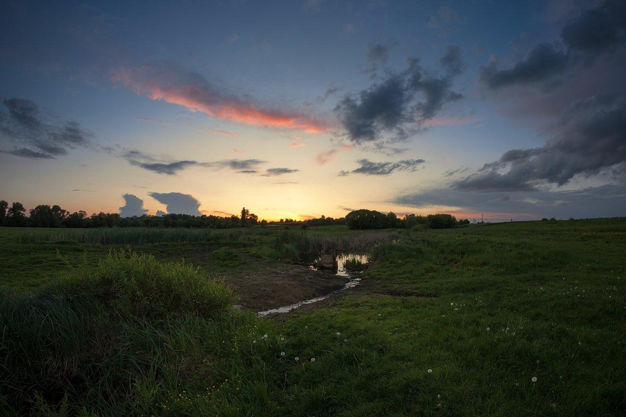 пейзаж,природа,небо,закат,рассвет,весна, Taras