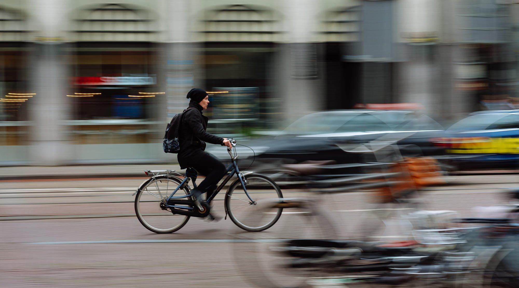 амстердам, amsterdam, netherlands, голландия, велосипед, движение, скорость, Александър Киричев